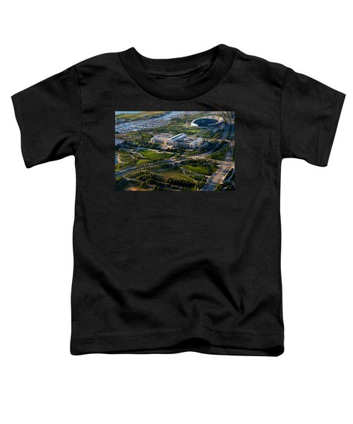 Aerial View Of The Field Museum Toddler T-Shirt by Panoramic Images