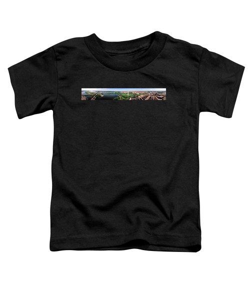 Aerial Washington Dc Usa Toddler T-Shirt by Panoramic Images