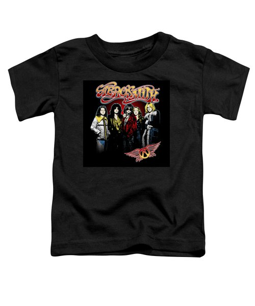 Aerosmith - 1970s Bad Boys Toddler T-Shirt by Epic Rights