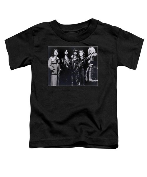 Aerosmith - America's Greatest Rock N Roll Band Toddler T-Shirt by Epic Rights