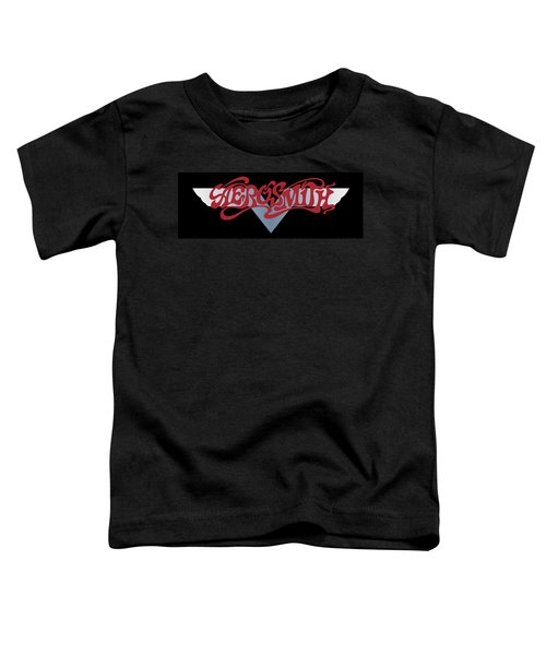 Aerosmith - Dream On Banner 1973 Toddler T-Shirt by Epic Rights