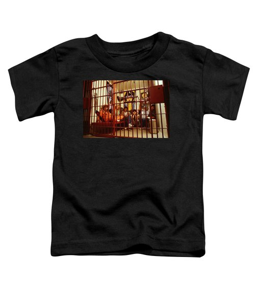 Aerosmith - In A Cage 1980s Toddler T-Shirt by Epic Rights