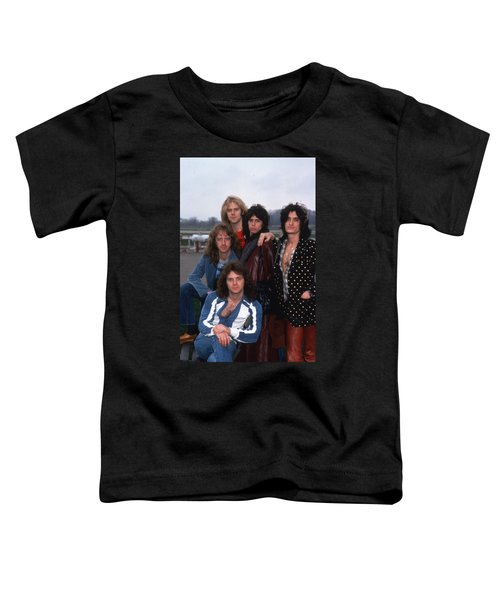 Aerosmith - Terre Haute 1977 Toddler T-Shirt by Epic Rights