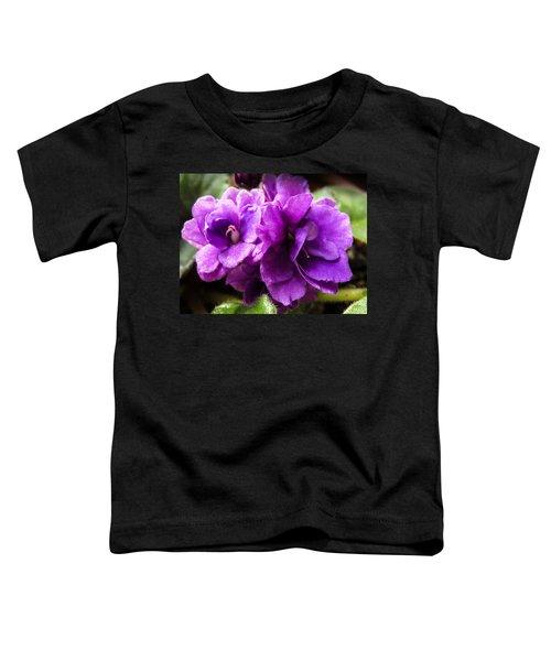African Violet Toddler T-Shirt