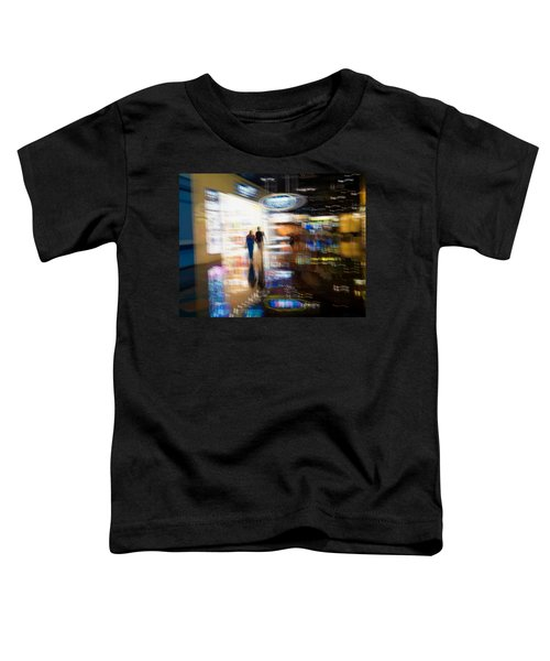 Toddler T-Shirt featuring the photograph After The Show by Alex Lapidus