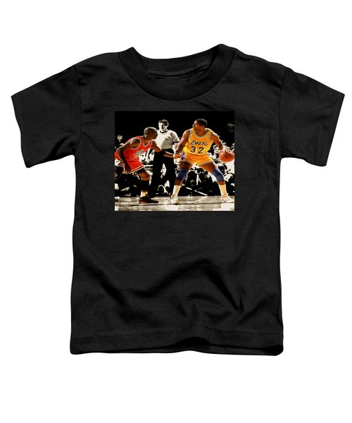 Air Jordan On Magic Toddler T-Shirt by Brian Reaves