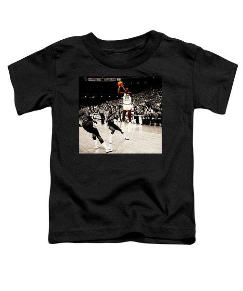 Air Jordan Unc Last Shot Toddler T-Shirt