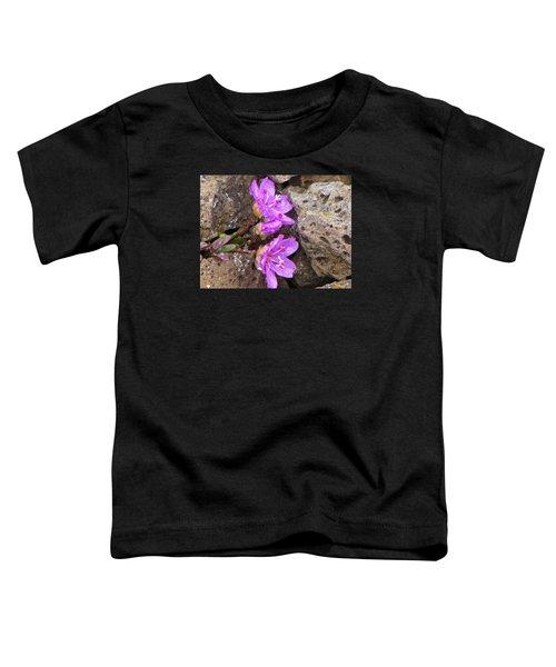Alaskan Wildflower Toddler T-Shirt