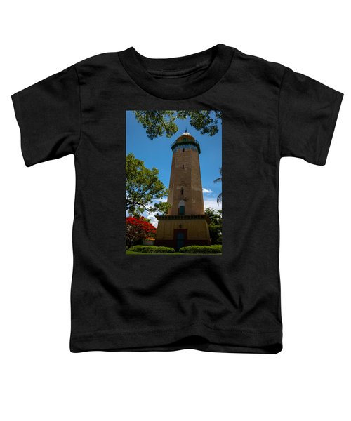 Alhambra Water Tower Of Coral Gables Toddler T-Shirt