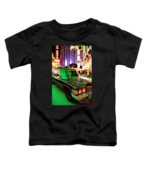 Alice Cooper's Hearse Toddler T-Shirt