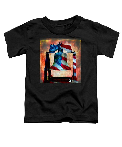 Liberty Bell Art Smooth All American Series Toddler T-Shirt