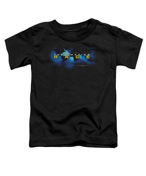 Amazing Race - Faded Globe Toddler T-Shirt