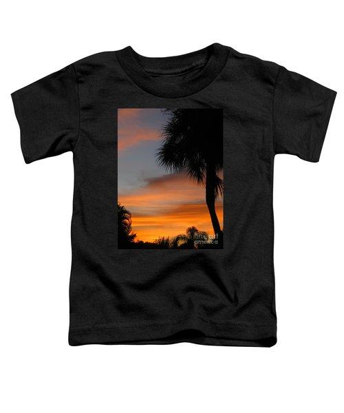 Amazing Sunrise In Florida Toddler T-Shirt