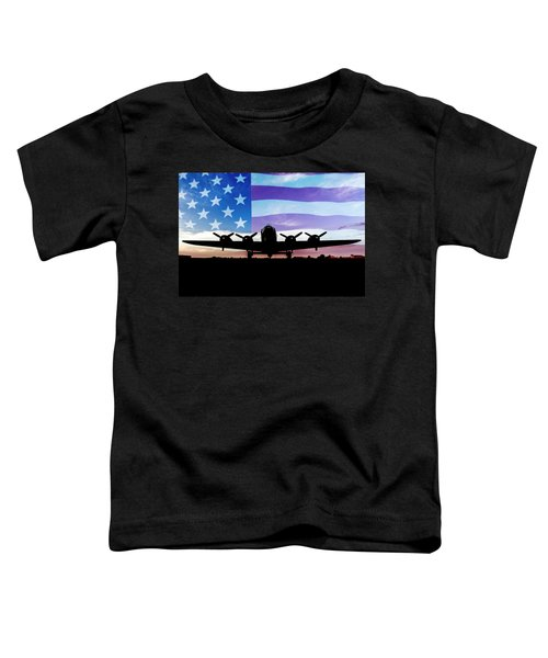 American B-17 Flying Fortress Toddler T-Shirt
