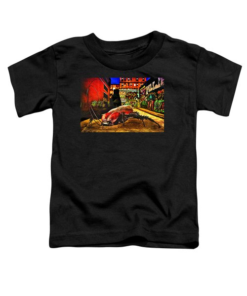 American Cockroach Toddler T-Shirt by Bob Orsillo