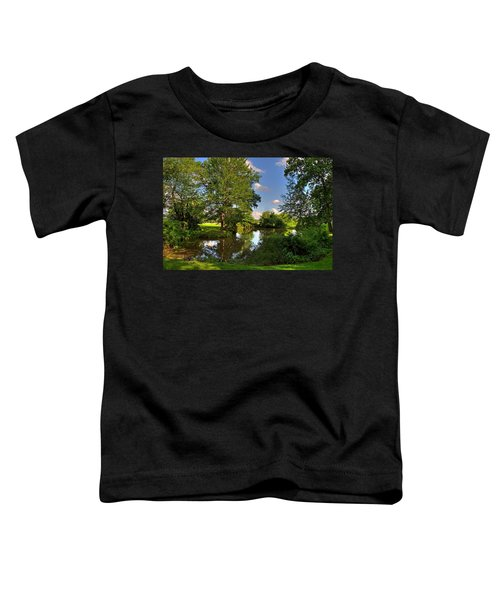 American Farm Pond Toddler T-Shirt
