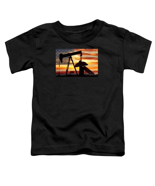 American Oil  Toddler T-Shirt by James BO  Insogna