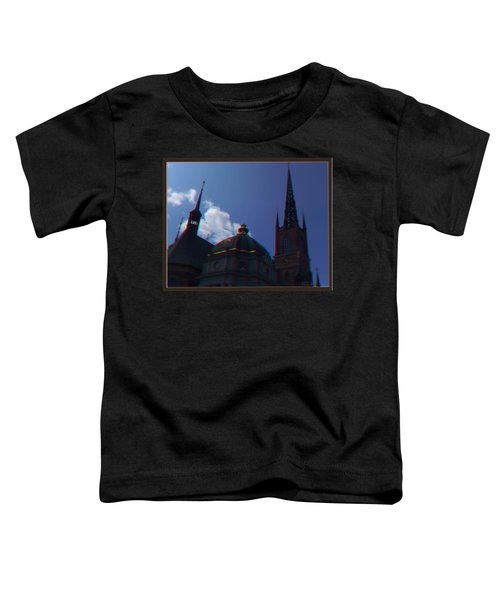 Anaglyph Church Toddler T-Shirt