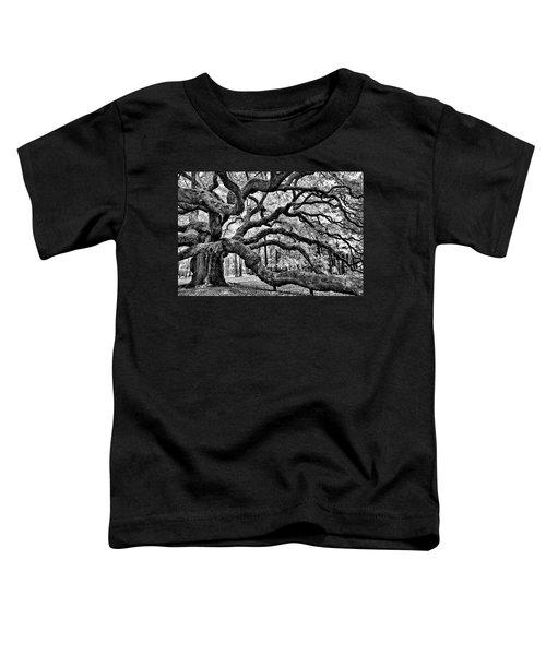 Angel Oak Tree Ir Hdr Toddler T-Shirt