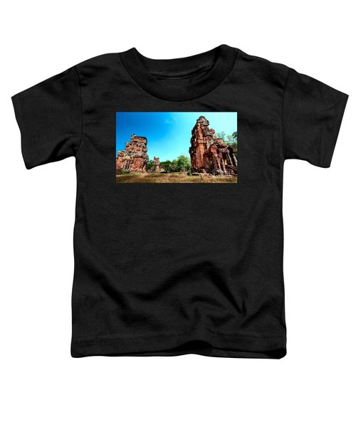 Angkor Wat Ruins Toddler T-Shirt