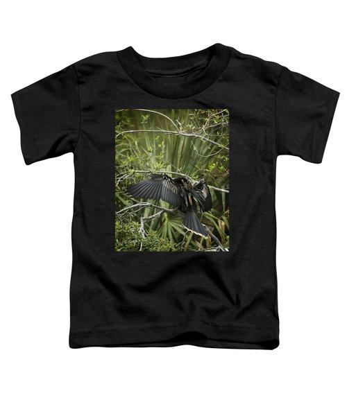 Anhinga Papa Toddler T-Shirt