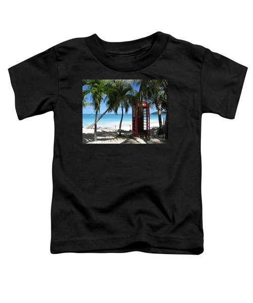 Antigua - Phone Booth Toddler T-Shirt