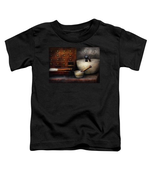 Apothecary - Pestle And Drawers Toddler T-Shirt