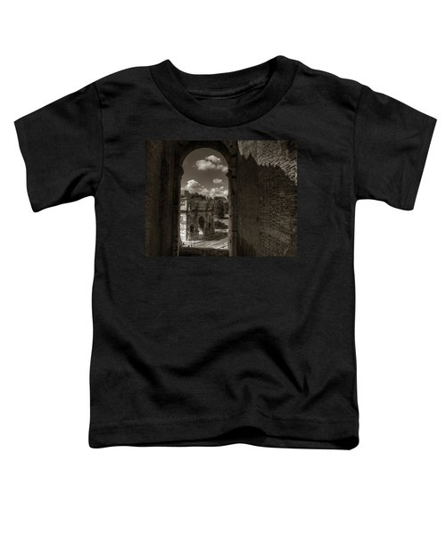 Arch Of Constantine From The Colosseum Toddler T-Shirt