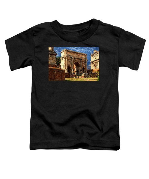 Arch Of Septimius Severus Toddler T-Shirt