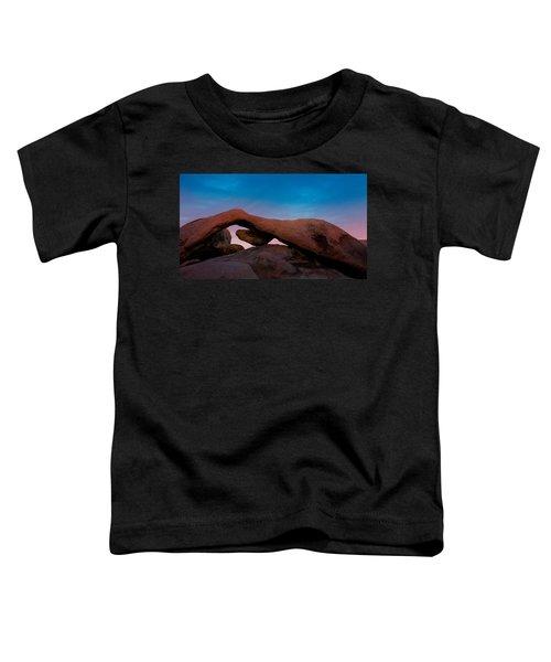 Arch Rock Evening Toddler T-Shirt
