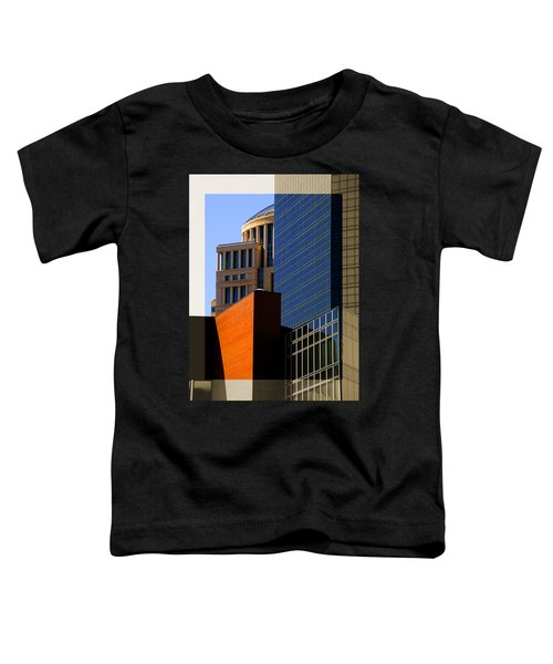 Architectural Stone Steel Glass Toddler T-Shirt