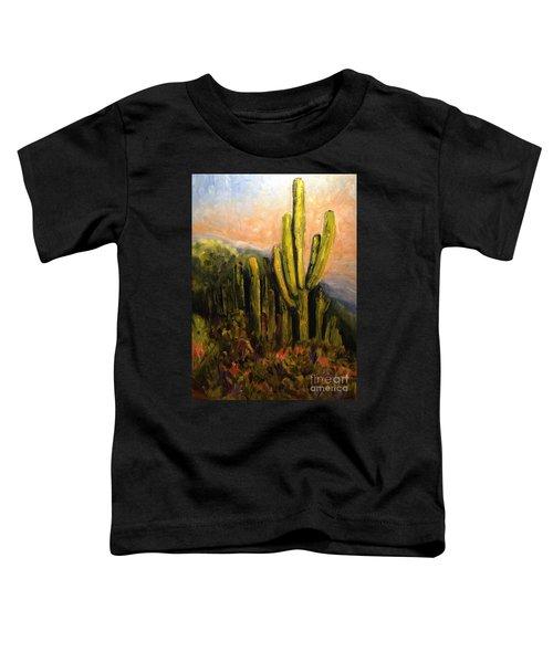 Arizona Desert Blooms Toddler T-Shirt