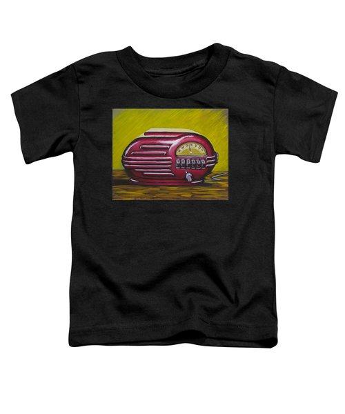 Art Deco Radio Toddler T-Shirt