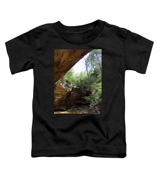 Ash Cave Of The Hocking Hills Toddler T-Shirt