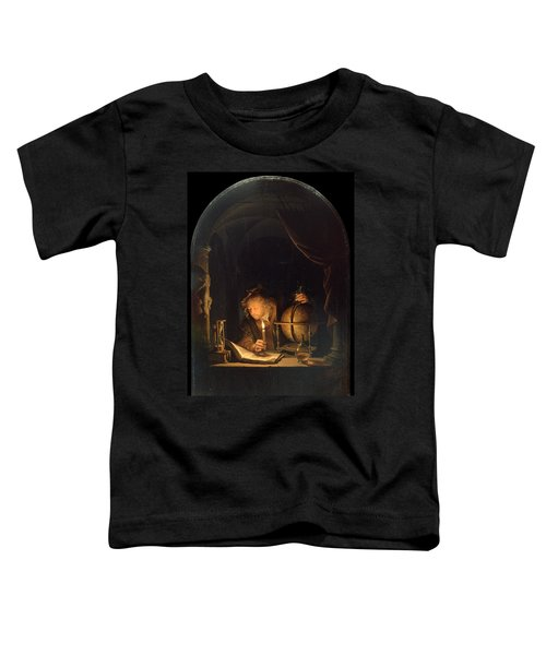Astronomer By Candlelight Toddler T-Shirt