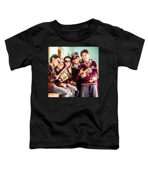 At The Local School In Zanskar Toddler T-Shirt