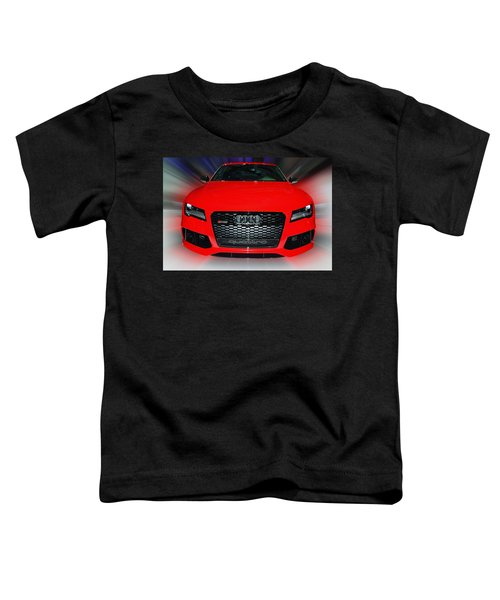 Audi Quattro Rs7 2014 Toddler T-Shirt
