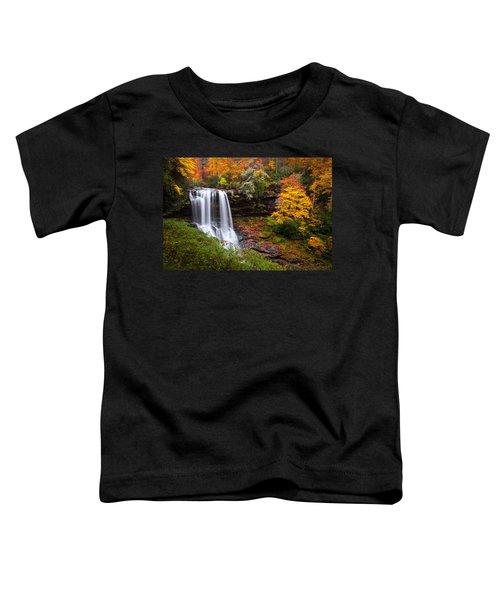 Autumn At Dry Falls - Highlands Nc Waterfalls Toddler T-Shirt