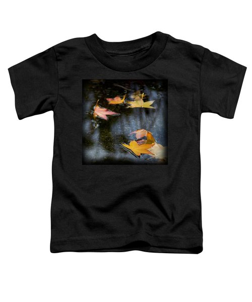Autumn Leaves On Water Toddler T-Shirt