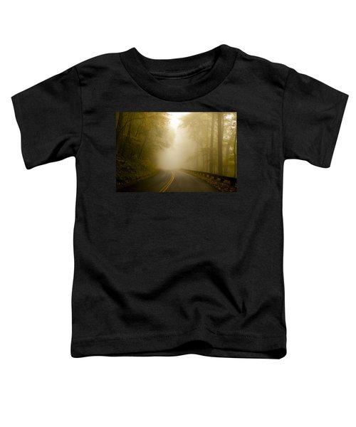 Autumn Mist Blue Ridge Parkway Toddler T-Shirt