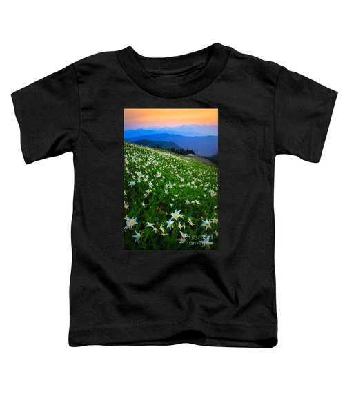 Avalanche Lily Field Toddler T-Shirt