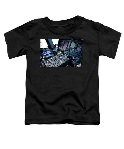 Aw139 Cockpit Toddler T-Shirt