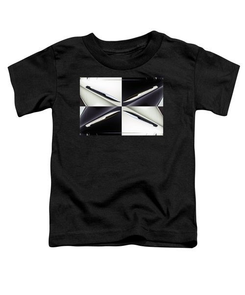 B And W Chevy Toddler T-Shirt