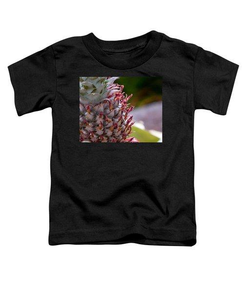 Baby White Pineapple Toddler T-Shirt