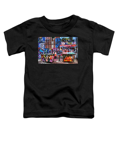 Back Alley Canvas Toddler T-Shirt