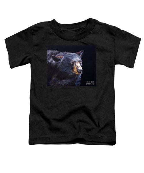 Back In Black Bear Toddler T-Shirt