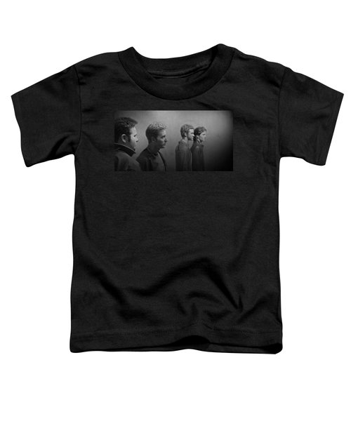Back Stage With Nsync Bw Toddler T-Shirt