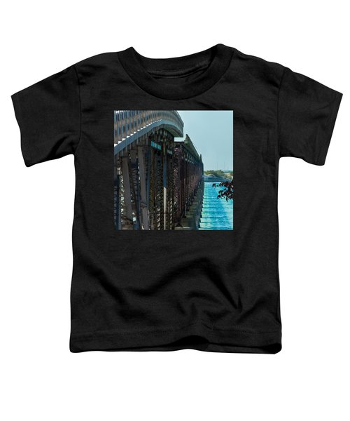 Bahia Honda Bridge Patterns Toddler T-Shirt