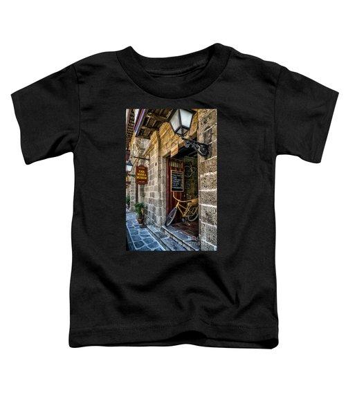Bamboo Bike Toddler T-Shirt