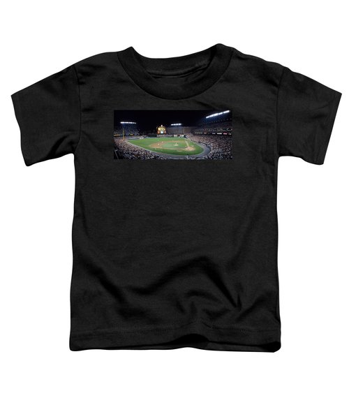 Baseball Game Camden Yards Baltimore Md Toddler T-Shirt by Panoramic Images